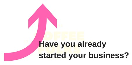 Have you already started your business button
